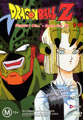 Dragon Ball Z 3.12 - Perfect Cell - Hunt For 18 on DVD