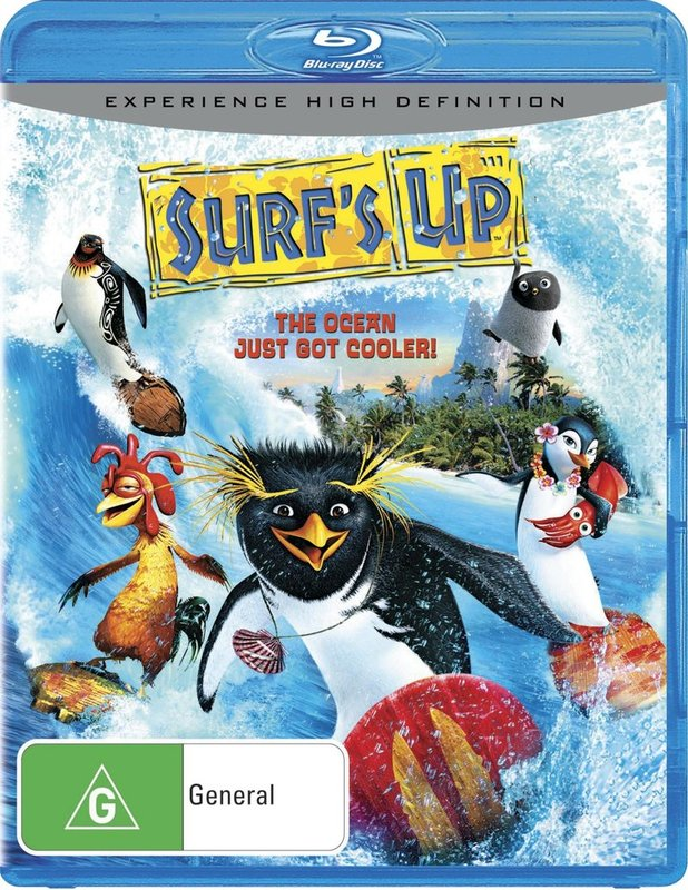 Surf's Up on Blu-ray