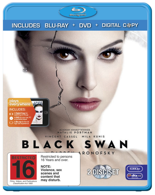 Black Swan on DVD, Blu-ray