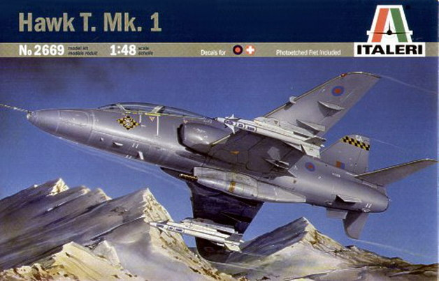 Italeri Hawk T. Mk. 1 1:48 Model Kit