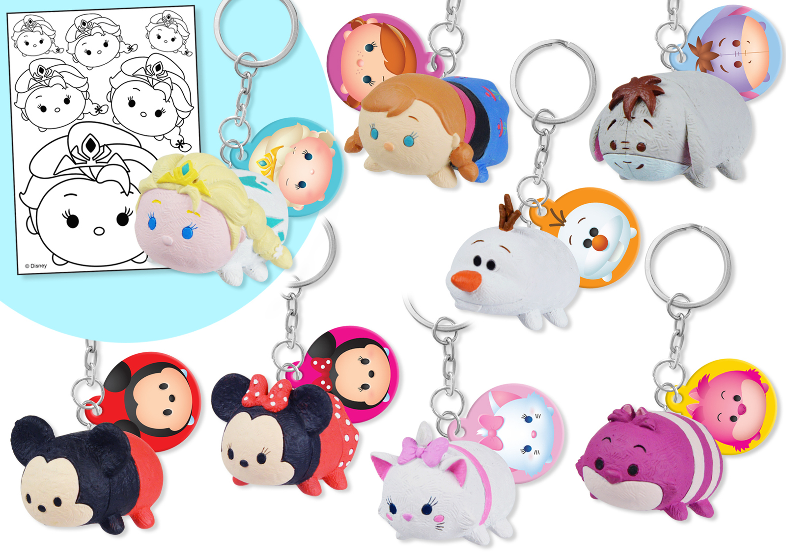 Disney Tsum Tsum Danglers Toy At Mighty Ape Nz