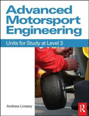 Advanced Motorsport Engineering by Andrew Livesey image