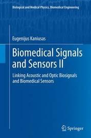 Biomedical Signals and Sensors II by Eugenijus Kaniusas image