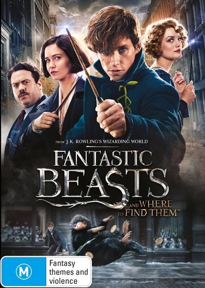 Fantastic Beasts and Where to Find Them on DVD image