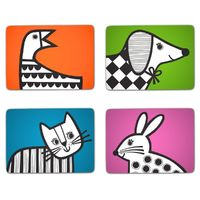Jane Foster Animal Magic Placemats (Set of 4)