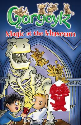 Gargoylz: Magic at the Museum by Jan Burchett image
