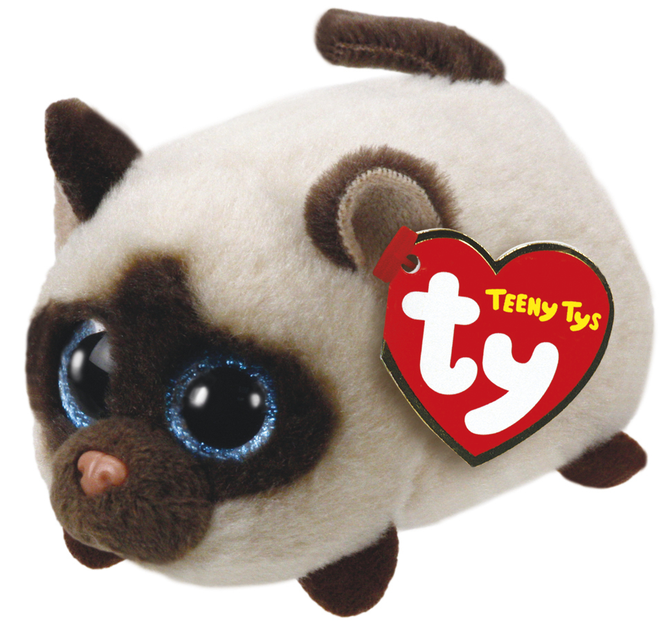 Ty Teeny: Kimi Siamese Cat - Small Plush image