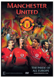 Manchester United - The Pride of all Europe DVD