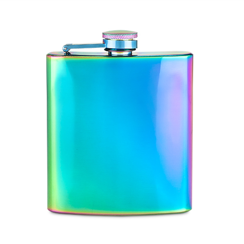 Blush: Mirage Iridescent - Stainless Steel Flask