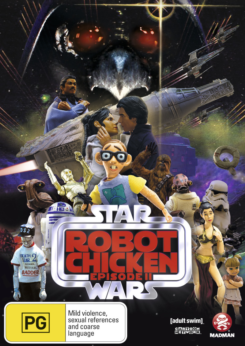 Robot Chicken: Star Wars Special - Episode 2 on DVD image