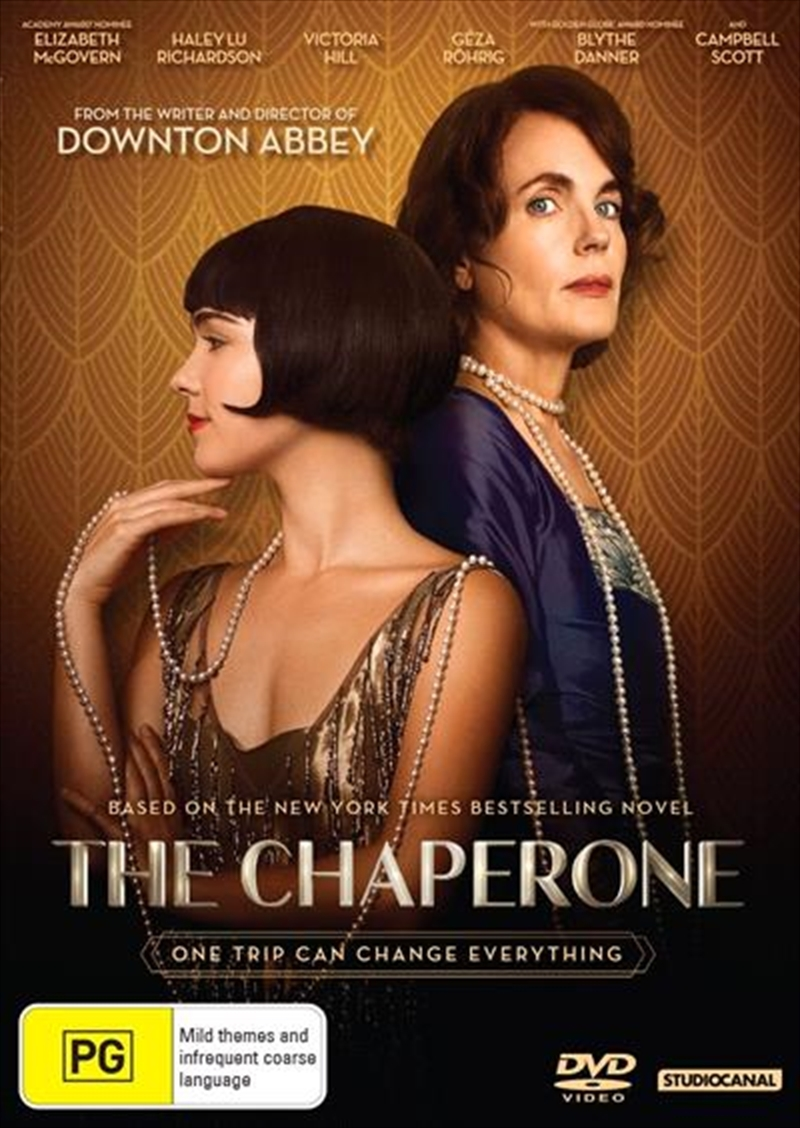 The Chaperone on DVD image