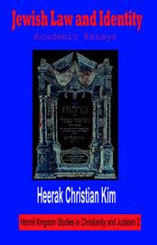 Jewish Law and Identity by Heerak Christian Kim image