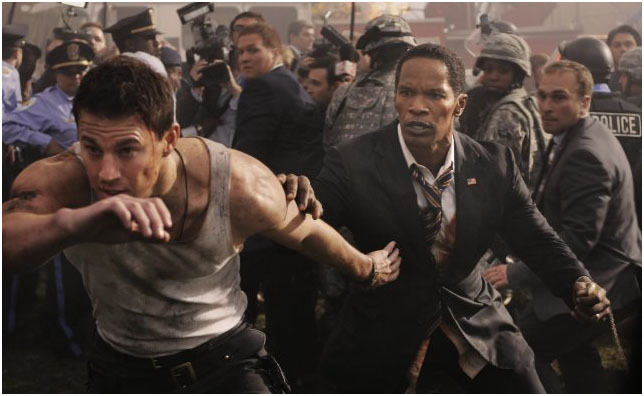 White House Down on DVD image