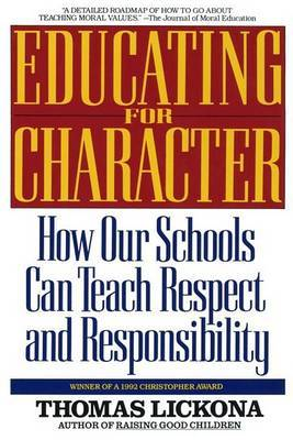 Educating For Character by Thomas Lickona image