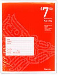 NZ Post Postage Included Bag FS Bubble