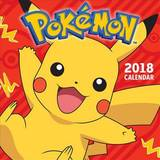 Pokemon 2018 Wall Calendar by Pokemon