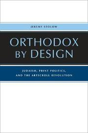Orthodox by Design by Jeremy Stolow image