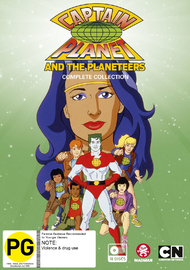 Captain Planet - Complete Collection on DVD image