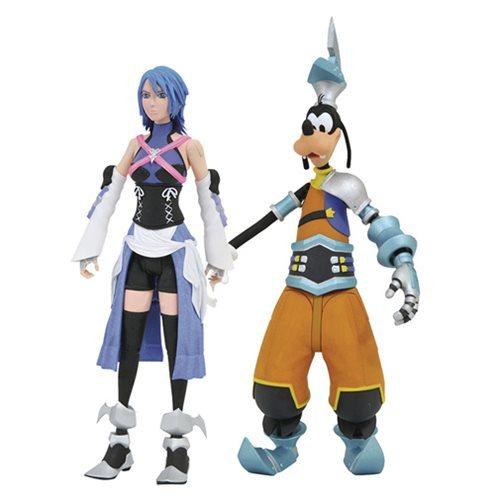 Kingdom Hearts: Select Action Figure 2-Pack - Aqua/Goofy