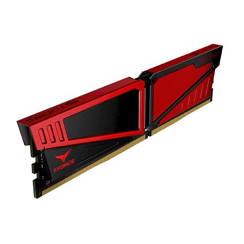 2x4GB T-Force Vulcan - Red 2400Mhz DDR4 RAM