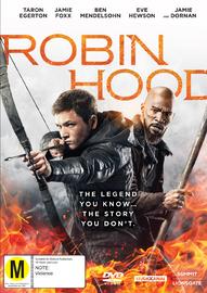 Robin Hood (2018) on DVD image