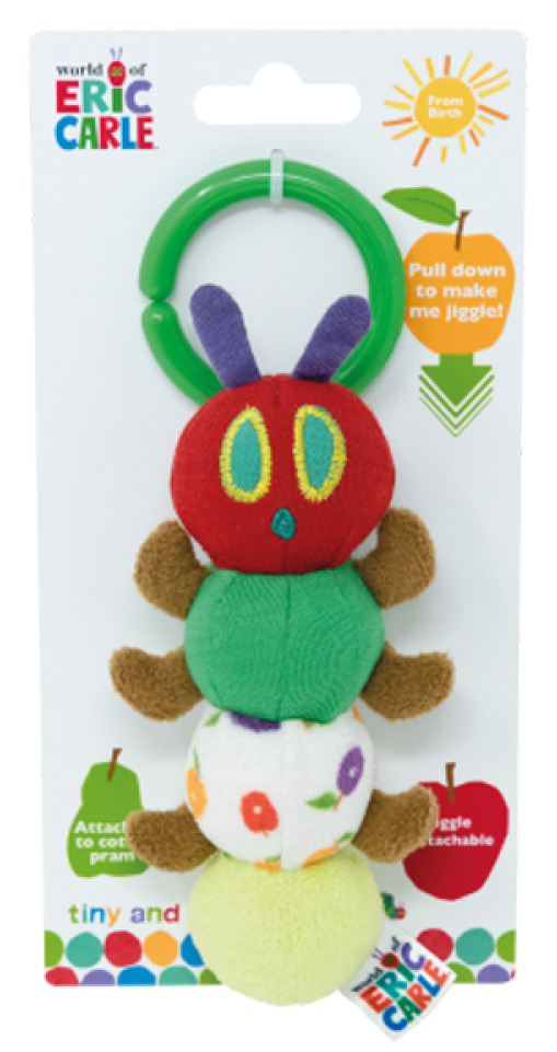 World Of Eric Carle: Tiny Caterpillar - Jiggle Attachable image