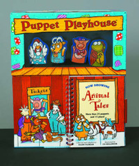 Puppet Playhouse: Animal Tales by Ellen Florian image