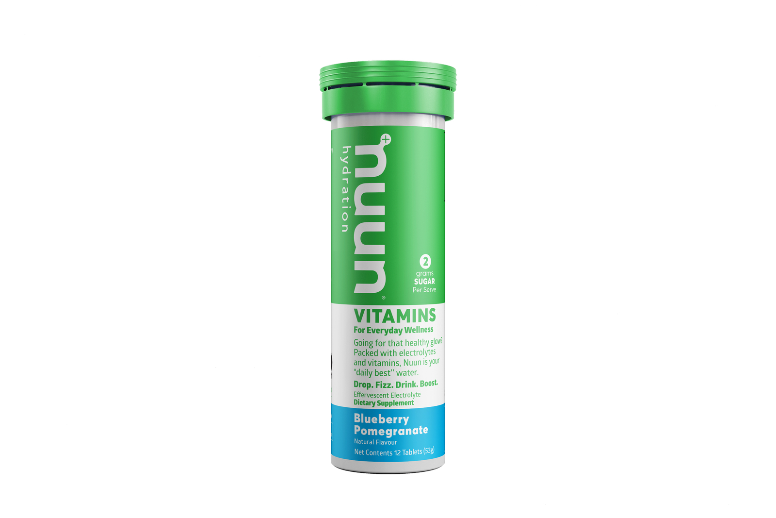 Nuun Vitamin Tablets - Blueberry Pomegranate image