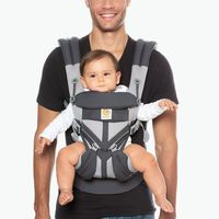 Ergobaby: Omni 360 - Cool Air Mesh All-In-One Baby Carrier (Carbon Grey) image