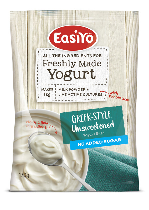 EasiYo: Everyday Range Yogurt Base Greek Style (170g) - 8-Pack