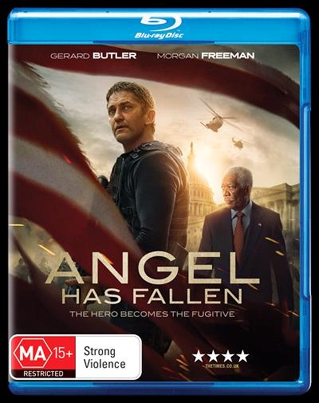Angel Has Fallen on Blu-ray