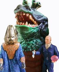 Doctor Who Enemies of the 3rd Doctor Exclusive Action Figure Set image