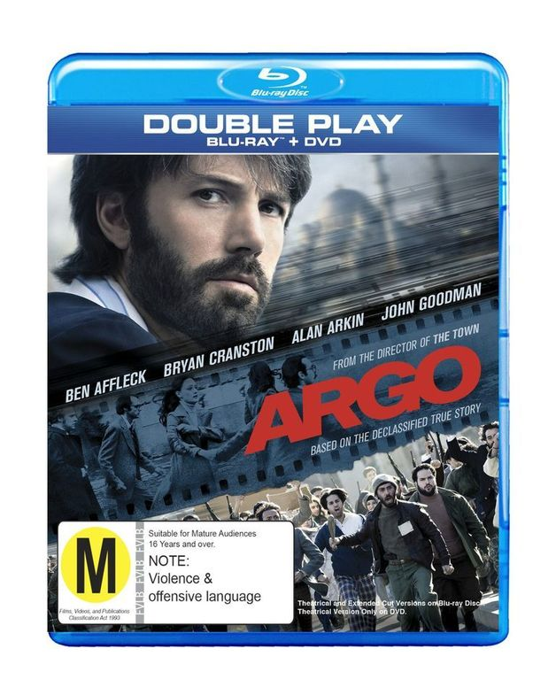 Argo - Double Play on DVD, Blu-ray