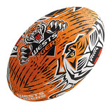 Steeden NRL Wests Tigers Supporter Ball - 28cm