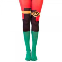 DC Comics Robin Suit Up Tights