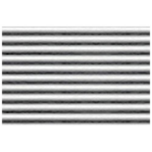 JTT Styrene Pattern Sheets Corrugated Iron (2pk) - 1/32 Scale