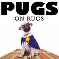 Pugs on Rugs by Jack Russell