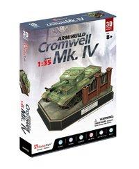 CubicFun: ArmiBuild - British Cromwell Mk. IV - 213 Piece 3D Puzzle