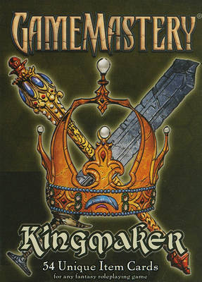 Gamemastery Item Cards: Kingmaker by Paizo Staff
