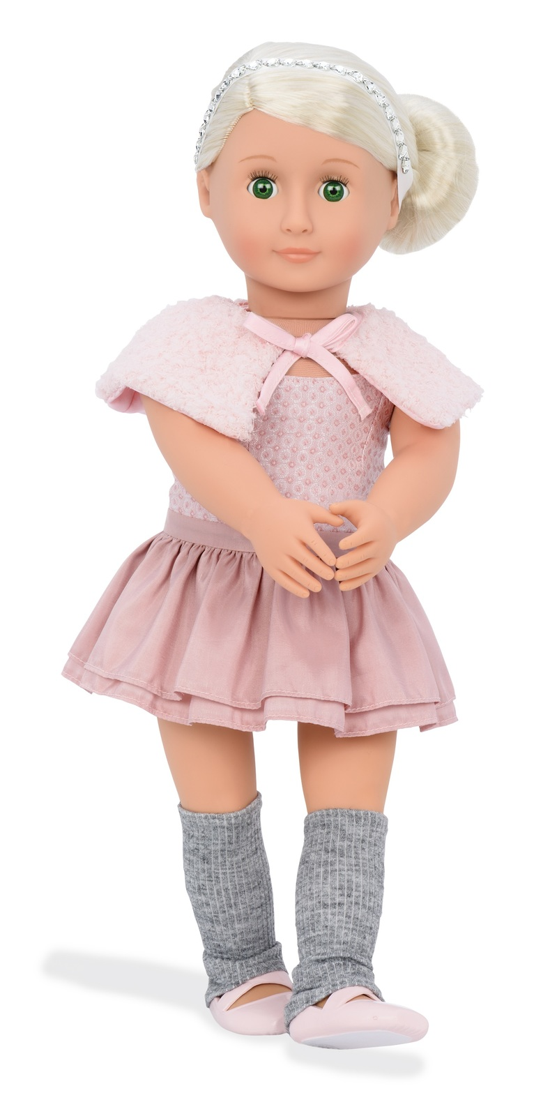 OUR GENERATION 18 INCH LAKE DOLL WITH 5 ACCESSORIES