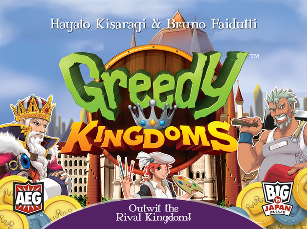 Greedy Kingdoms - Board Game