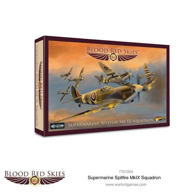 Blood Red Skies: Supermarine Spitfire Mk IX Squadron