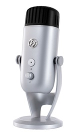 Arozzi Colonna Microphone (Silver) for PC