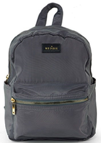 Kedzie: Mainstreet Mini Backpack - Grey