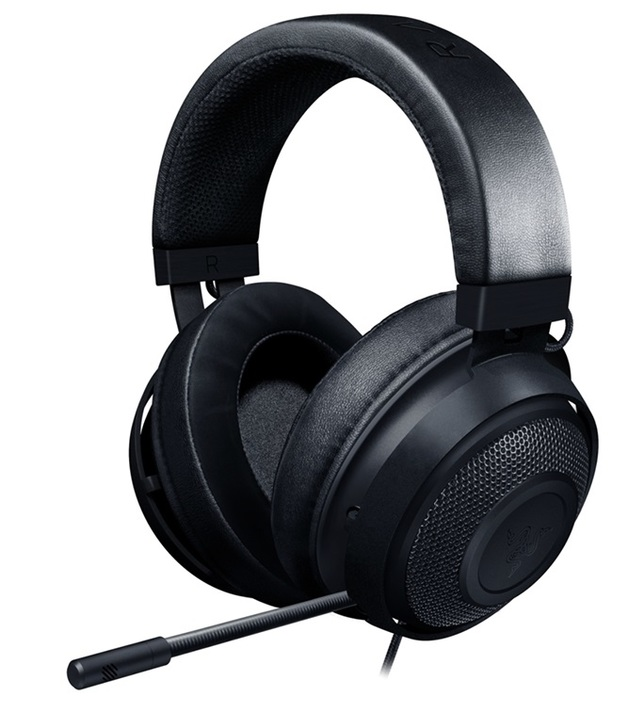 Razer Kraken Multi Platform Gaming Headset (Black) for PC