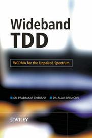 Wideband TDD by Prabhakar Chitrapu image