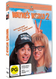Wayne's World 2 on DVD