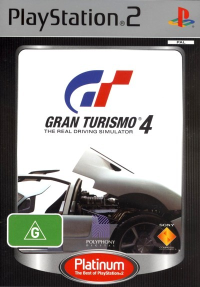 Gran Turismo 4 (Platinum) for PS2