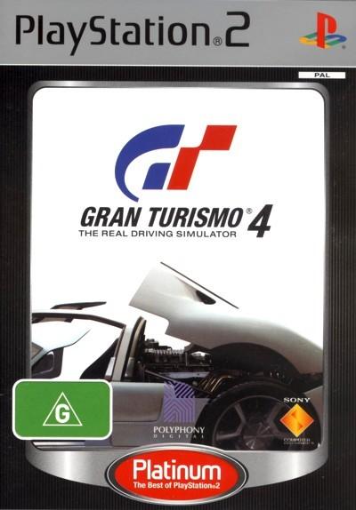 Gran Turismo 4 (Platinum) for PlayStation 2