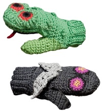 Vs. Stuff Kids Frog vs. Fly Mittens